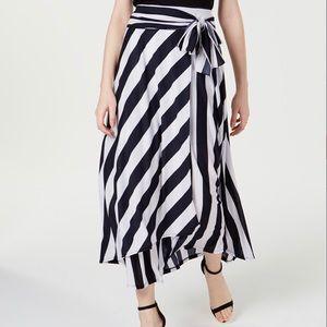 *NWT* INC Striped Maxi Skirt